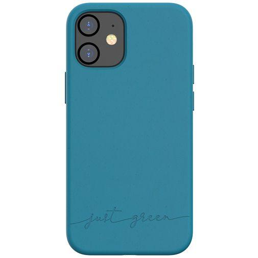 Productafbeelding van de Just Green Kunststof Back Cover Blauw Apple iPhone 12 Mini