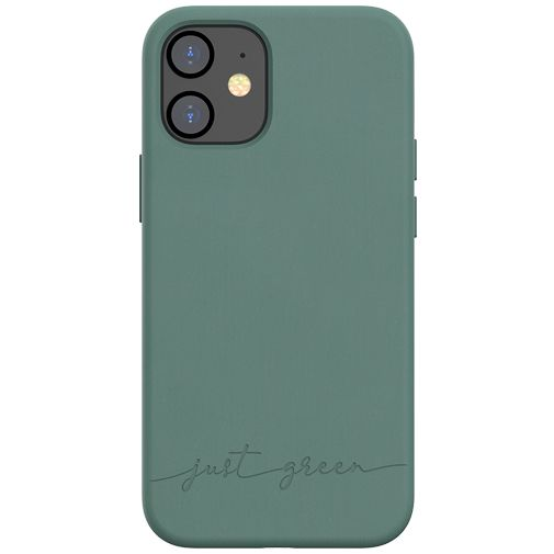 Productafbeelding van de Just Green Kunststof Back Cover Groen Apple iPhone 12 Mini