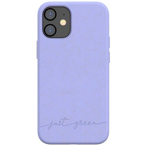 Productafbeelding van de Just Green Kunststof Back Cover Paars Apple iPhone 12 Mini