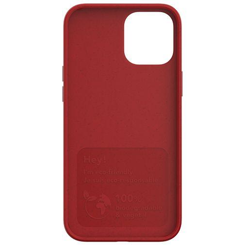 Productafbeelding van de Just Green Kunststof Back Cover Rood Apple iPhone 12 Pro Max