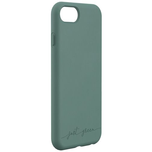 Productafbeelding van de Just Green Kunststof Back Cover Groen Apple iPhone 6/6S/7/8/SE 2020