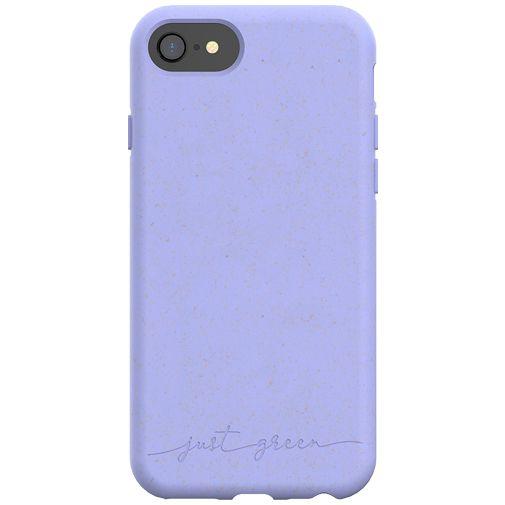 Productafbeelding van de Just Green Kunststof Back Cover Paars Apple iPhone 6/6S/7/8/SE 2020