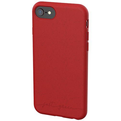 Productafbeelding van de Just Green Kunststof Back Cover Rood Apple iPhone 6/6S/7/8/SE 2020