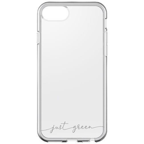 Productafbeelding van de Just Green Kunststof Back Cover Transparant Apple iPhone 6/6S/7/8/SE 2020