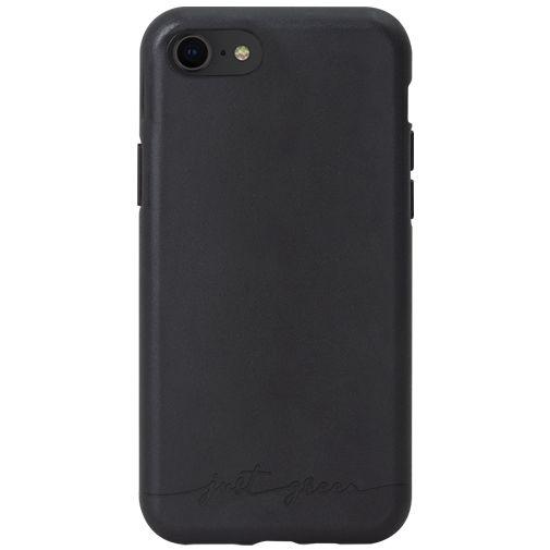 Productafbeelding van de Just Green Kunststof Back Cover Zwart Apple iPhone 6/6S/7/8/SE 2020