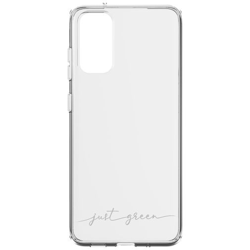 Productafbeelding van de Just Green Kunststof Back Cover Transparant Samsung Galaxy S20