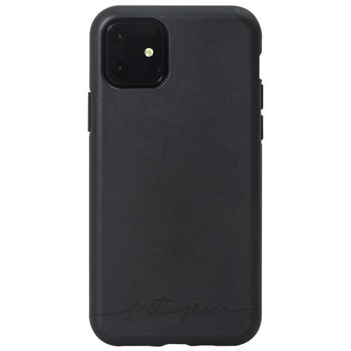 Productafbeelding van de Just Green Kunststof Back Cover Zwart Apple iPhone 11