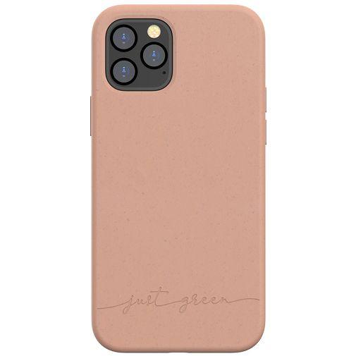 Productafbeelding van de Just Green Kunststof Back Cover Bruin Apple iPhone 12/12 Pro