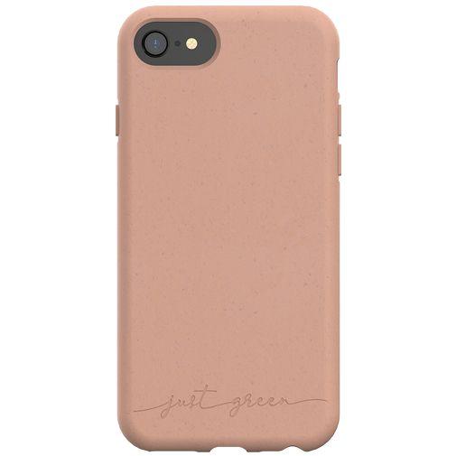 Productafbeelding van de Just Green Kunststof Back Cover Bruin Apple iPhone 6/6S/7/8/SE 2020