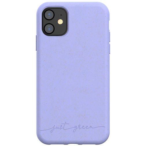 Productafbeelding van de Just Green Kunststof Back Cover Paars Apple iPhone 11