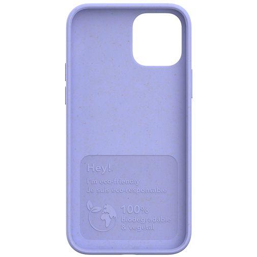 Productafbeelding van de Just Green Kunststof Back Cover Paars Apple iPhone 12/12 Pro