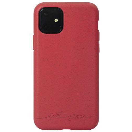 Productafbeelding van de Just Green Kunststof Back Cover Rood Apple iPhone 11