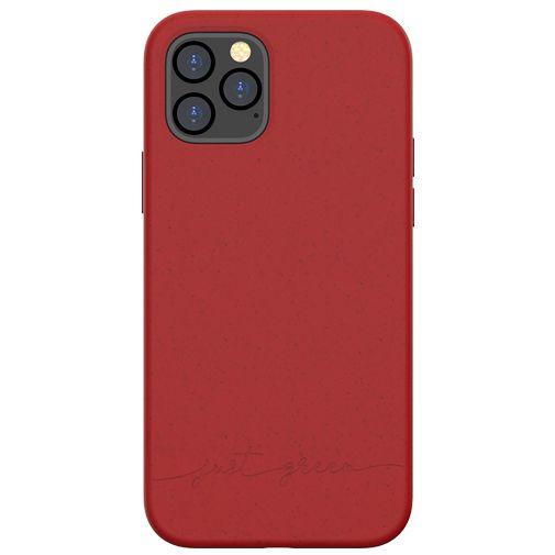 Productafbeelding van de Just Green Kunststof Back Cover Rood Apple iPhone 12/12 Pro
