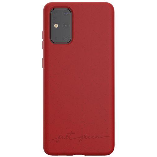 Productafbeelding van de Just Green Kunststof Back Cover Rood Samsung Galaxy S20+