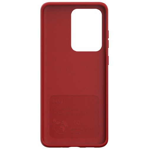 Productafbeelding van de Just Green Kunststof Back Cover Rood Samsung Galaxy S20 Ultra