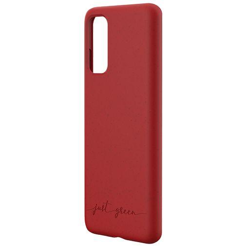 Productafbeelding van de Just Green Kunststof Back Cover Rood Samsung Galaxy S20