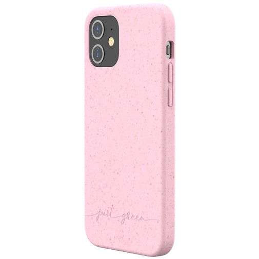 Productafbeelding van de Just Green Kunststof Back Cover Roze Apple iPhone 12/12 Pro