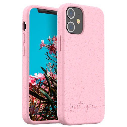 Productafbeelding van de Just Green Kunststof Back Cover Roze Apple iPhone 12 Mini