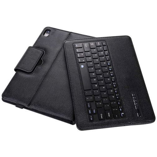 Produktimage des Just in Case Bluetooth Tastatur Cover Schwarz Apple iPad Pro 2018 11