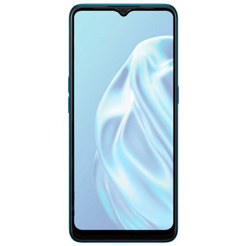Productafbeelding van de Just in Case Full Cover Tempered Glass Screenprotector Black Oppo A91