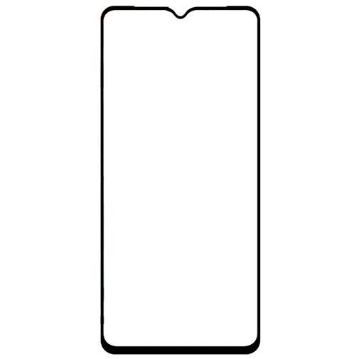 Productafbeelding van de Just in Case Full Cover Tempered Glass Screenprotector Black Oppo Reno 3 4G