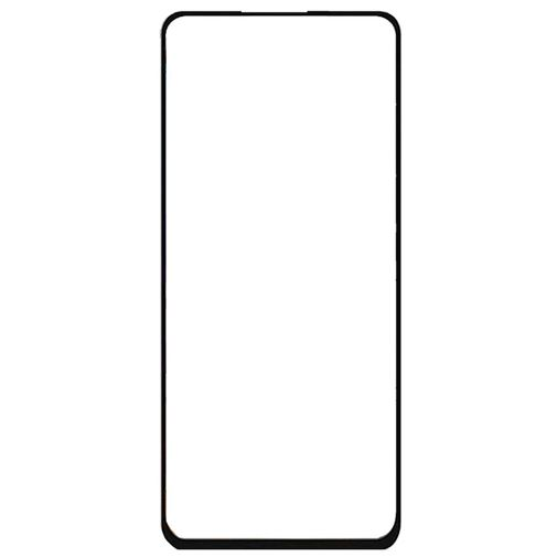 Productafbeelding van de Just in Case Full Cover Tempered Glass Screenprotector Black Samsung Galaxy A21s