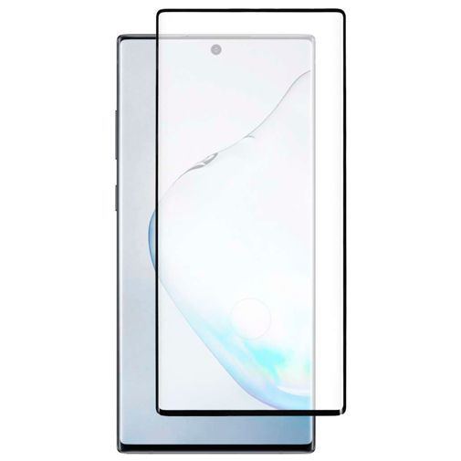 Productafbeelding van de Just in Case Full Cover Tempered Glass Screenprotector Black Samsung Galaxy Note 10