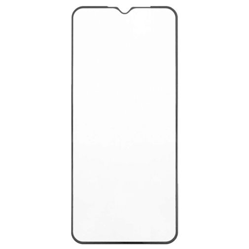 Productafbeelding van de Just in Case Full Cover Tempered Glass Screenprotector Black Xiaomi Redmi 9C