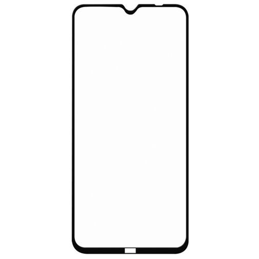 Produktimage des Just in Case Full Cover Gehärtetes Glas Displayschutzfolie Schwarz Xiaomi Redmi Note 8T
