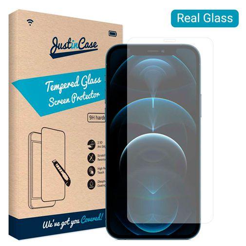 Productafbeelding van de Just in Case Gehard Glas Clear Screenprotector Apple iPhone 12 Pro Max