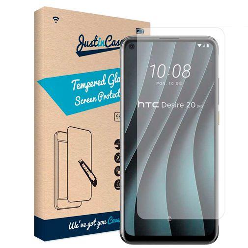 Productafbeelding van de Just in Case Gehard Glas Clear Screenprotector HTC Desire 20 Pro