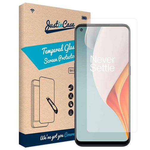Productafbeelding van de Just in Case Gehard Glas Clear Screenprotector OnePlus Nord N100