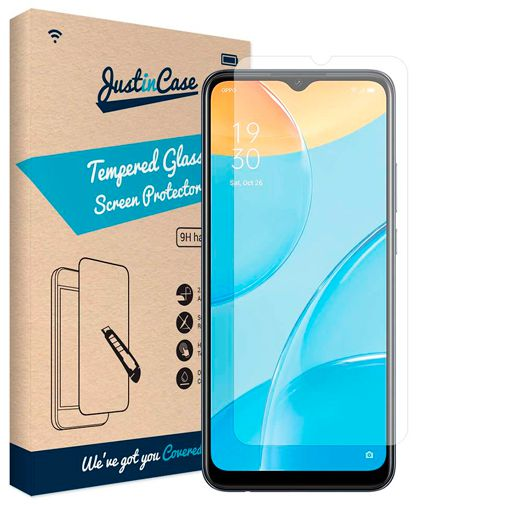 Productafbeelding van de Just in Case Gehard Glas Clear Screenprotector Oppo A15