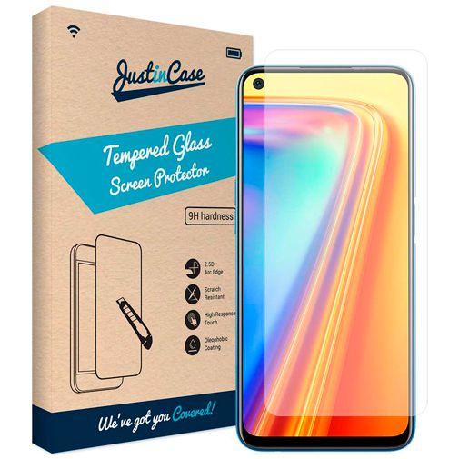 Productafbeelding van de Just in Case Gehard Glas Clear Screenprotector Realme 7