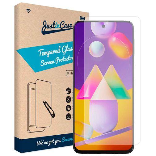 Productafbeelding van de Just in Case Gehard Glas Clear Screenprotector Samsung Galaxy M31s
