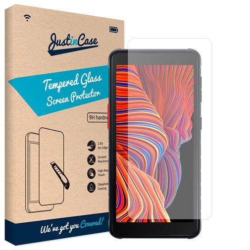 Productafbeelding van de Just in Case Gehard Glas Clear Screenprotector Samsung Galaxy Xcover 5