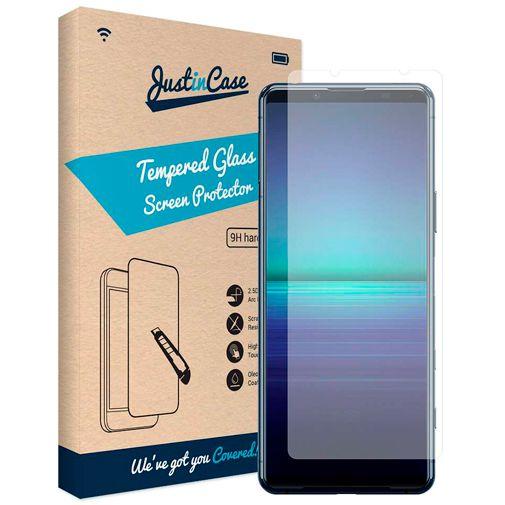 Productafbeelding van de Just in Case Gehard Glas Clear Screenprotector Sony Xperia 5 II