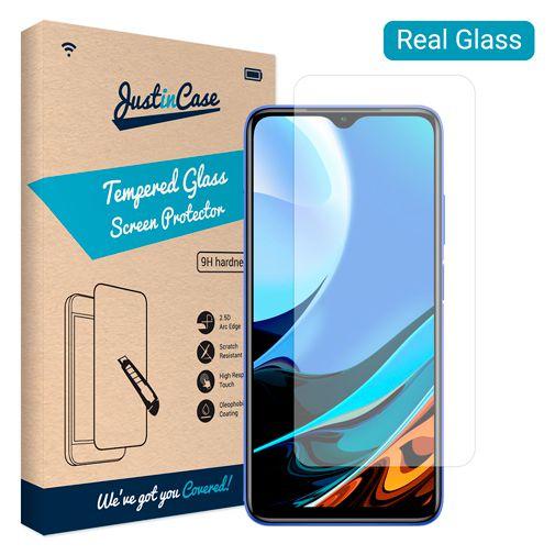 Productafbeelding van de Just in Case Gehard Glas Clear Screenprotector Xiaomi Redmi 9T