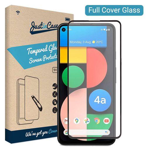 Productafbeelding van de Just in Case Gehard Glas Edge to Edge Screenprotector Google Pixel 4a 5G