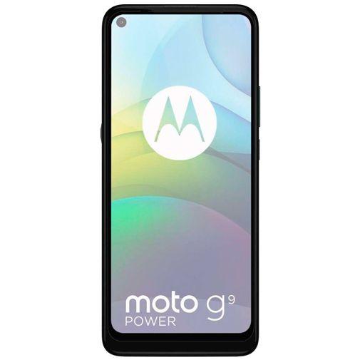 Productafbeelding van de Just in Case Gehard Glas Edge to Edge Screenprotector Motorola Moto G9 Power