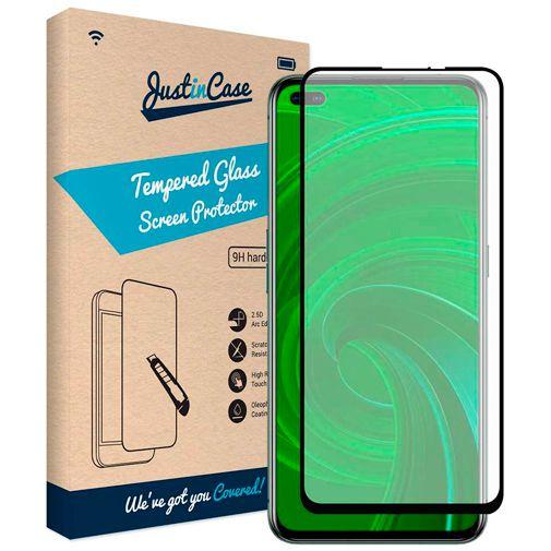 Productafbeelding van de Just in Case Gehard Glas Edge to Edge Screenprotector Realme X50