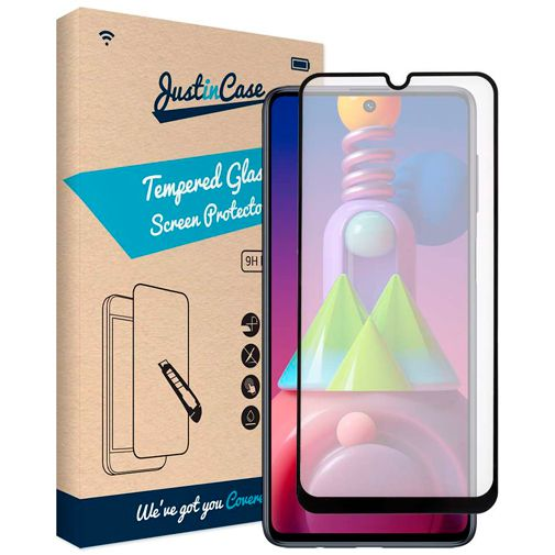 Productafbeelding van de Just in Case Gehard Glas Edge to Edge Screenprotector Samsung Galaxy M51