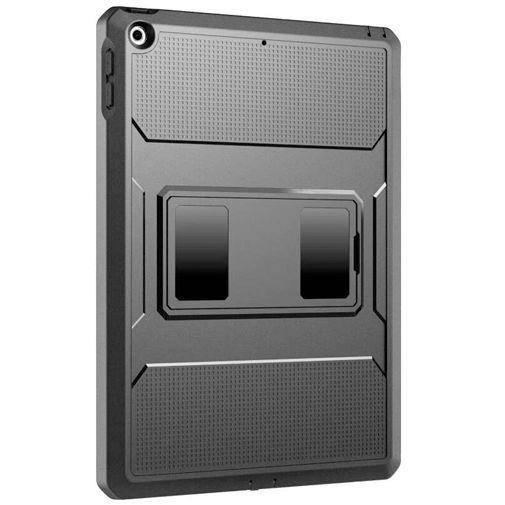 Productafbeelding van de Just in Case Heavy Duty Case Black Apple iPad 2019