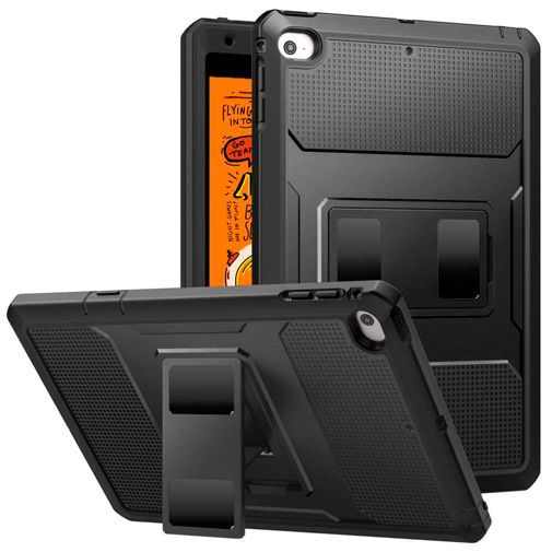 Produktimage des Just in Case Heavy Duty Case Schwarz Apple iPad Mini 2019