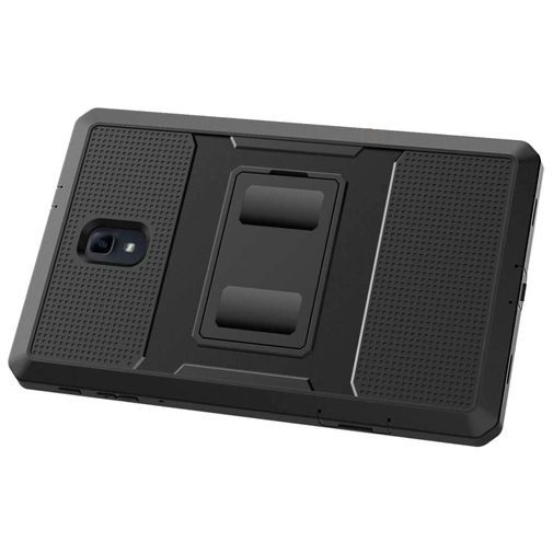 Productafbeelding van de Just in Case Heavy Duty Case Black Samsung Galaxy Tab A 10.5 (2018)