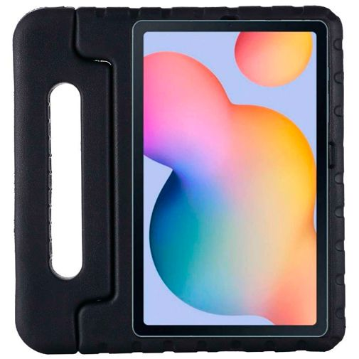 Productafbeelding van de Just in Case Kids Case Classic Kunststof Back Cover Zwart Samsung Galaxy Tab S6 Lite