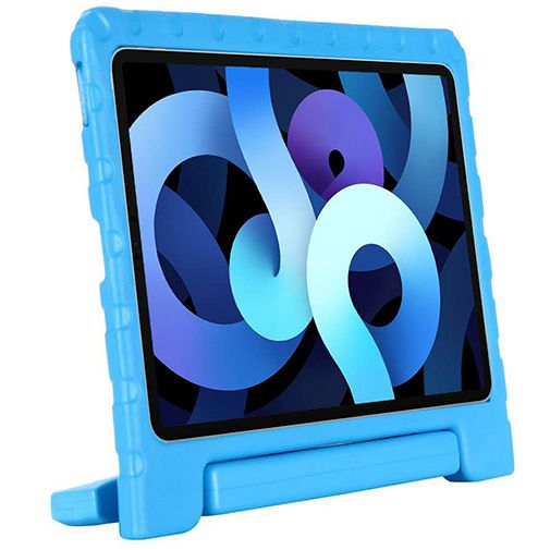 Productafbeelding van de Just in Case Kidscase Kunststof Back Cover Blauw Apple iPad Air 2020