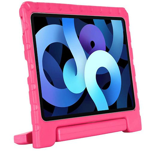 Productafbeelding van de Just in Case Kidscase Kunststof Back Cover Roze Apple iPad Air 2020