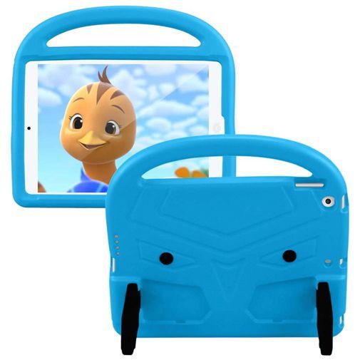 Productafbeelding van de Just in CaseKidscase Stand Cover Blue Apple iPad 2019/iPad 2020