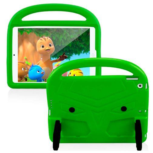 Productafbeelding van de Just in CaseKidscase Stand Cover Green Apple iPad 2019/iPad 2020